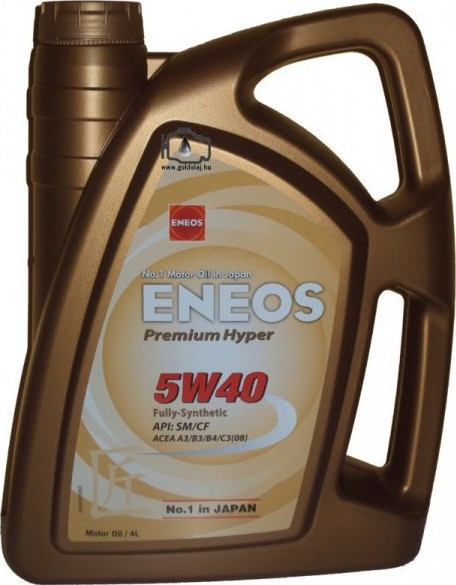 ENEOS PREMIUM HYPER fully Synthetic Long-life 5w40 4L