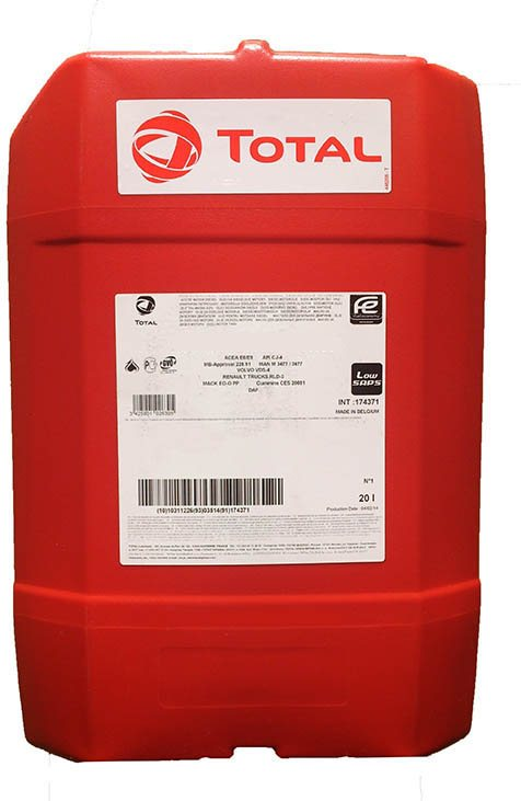 TOTAL RUBIA FLEET HD400 20W50 20L