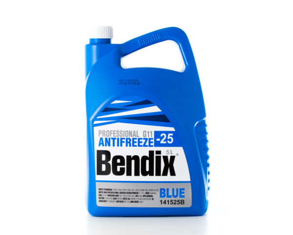 BENDIX -25C   G11  ANTIFREEZE  BLUE    5L